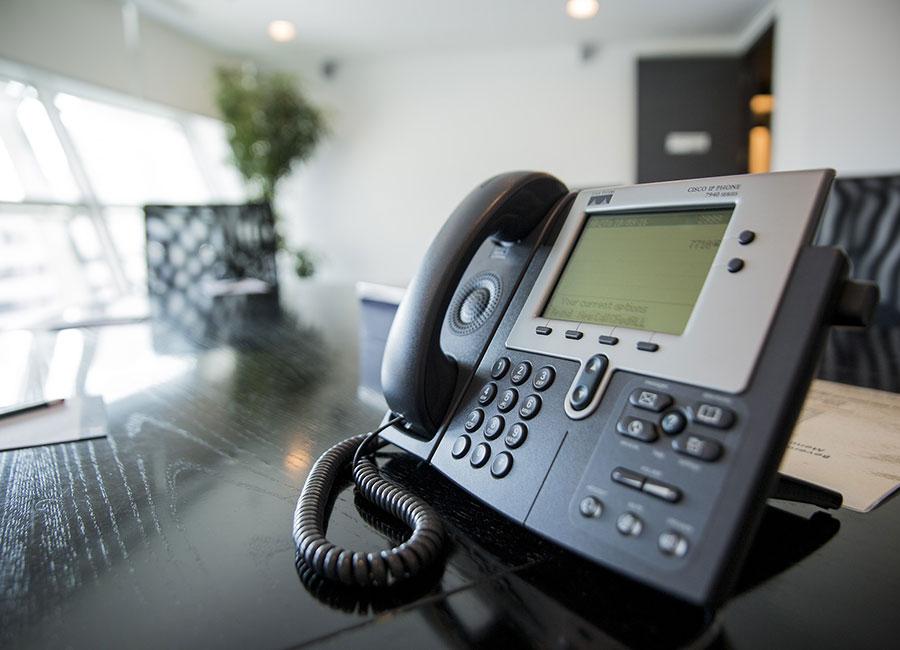 Téléphone fixe d'entreprise standard